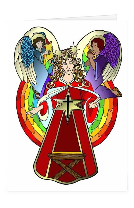 Cantata Angel gets its own card